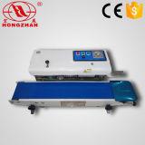 A parte superior de tabela da tomada de fábrica e o tipo Semi automáticos do assoalho continuam a máquina da selagem para o saco da faixa e da embalagem com nó e gravação