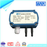 aplicación inferior del transductor de presión diferenciada 4-20mA para la HVAC
