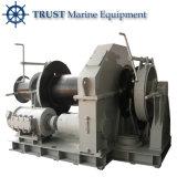Torno hidráulico marina del ancla del barco de pesca del cabrestante de la nave