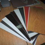 Hölzerne vor angestrichene Aluminium-Ringe für Aluminiumbienenwabe-Panels