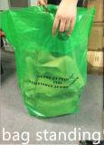 Sacos tecidos plástico do jardim do saco do desperdício do saco do saco 110L/150L do PVC