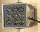 9W RGB Alumínio Alloy Material Spot Light com 3 anos de garantia