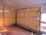 Camera di pollo fatta dal comitato della lamiera di acciaio e delle lane di roccia