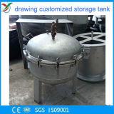 De chemische Tank van het Staal met het Oppoetsen Oppervlakte