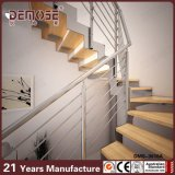 Villa Staircase (DMS-3010)のためのU Shape Stair Wooden Step