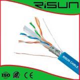 Purpurrotes 23AWG F/UTP CAT6 Kabel ETL zugelassenes Cmx/Cm/Cmr Avilable