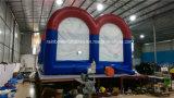 Futebol inflável do poste do futebol do poste inflável engraçado do futebol