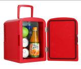 Mini litro novo DC12V /AC100-240V do refrigerador 6 para o carro ou a HOME, uso do escritório