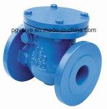 Wedge de borracha Swing Check Valve com Ce