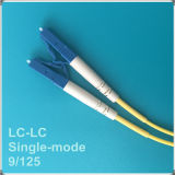 LC-LC PC Single-Mode Faser-Optiksteckschnür