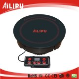 Hot Pot Coffer Cooking Sm H201를 위한 Round Line Control Induction Stove에 있는 Ailipu Built
