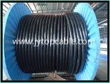 Câble d'alimentation isolé par XLPE moyen de conducteur d'en cuivre de tension avec 3 faisceaux
