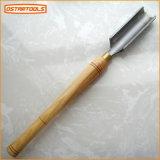 Insieme di scultura di legno dello scalpello del tornio per gli strumenti della mano e gli strumenti per tornitura di falegnameria utilizzati per la macchina
