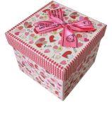 Piccolo contenitore di imballaggio squisito del regalo della carta da stampa con il nastro