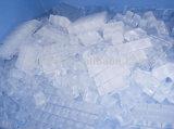 2000kg fabricante de gelo do cubo do material do aço inoxidável 304 com refrigerar de ar da certificação do Ce