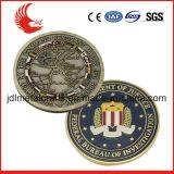 2016の米国旧式な様式の青銅材料の安いカスタム硬貨