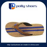 Grootte 9 van de Wipschakelaar Sandals van de Leren riem van originele Mensen Bruine