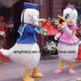 Traje animal da mascote do pato de Donald