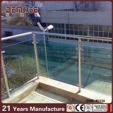 Diseño del pasamano del vidrio Tempered del balcón (DMS-B2131)