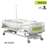 特許を取られたデザイン手動医学の2クランクの病院用ベッド(HK-N204)