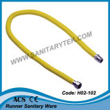 Flexible extensible extensible en acier inoxydable flexible pour gaz (H02-102)