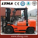 Vente en gros chariot élévateur de diesel de matériel d'entrepôt de prix usine de chariot élévateur de 4 tonnes