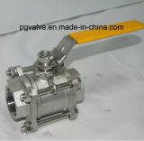 valvola a sfera femminile 2PC di 100wog Ss316 con ISO9001