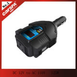 AC110V 125W 디지털 표시 장치를 가진 소형 차 힘 변환장치에 DC12V