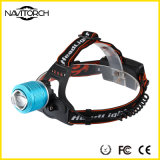 Linterna recargable brillante de la pista Lamp/LED Headlamp/LED del CREE XP-E LED (NK-606)