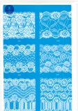 Merletto largo ordinario per vestiti/indumento/pattini/sacchetto/caso 3095 (larghezza: 7cm)