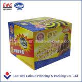 Cajas de embalaje de papel coloridas para el incienso de la bobina del mosquito
