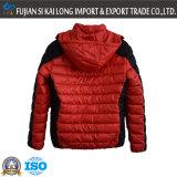 取り外し可能なキャップとファッションデザインのメンズ冬の暖かいパッド入りジャケット