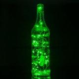 De Lichten van het koord, het Super Heldere Warme Groene licht-Green van de Kabel van de Draad van de Kleur