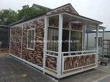 Casa móvil al aire libre New-Style/chalet prefabricados/prefabricados para la venta caliente
