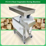 Máquina de corte grande do cubo do rizoma/vegetal de raiz