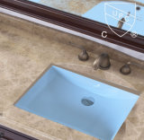 Ceramic all'ingrosso Under Counter Basin con Overflow (SN017)