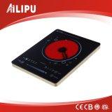 De alta potencia de Big Plate infrarrojo cocina / Estufa / Ambiental barbacoa Anafe / Aluminio Shell vitrocerámica