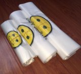 Цветастый полиэтиленовый пакет тенниски используемый для супермаркета Shoppong