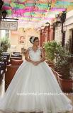 El casquillo de lujo árabe de los vestidos de boda envuelve el cordón que rebordea las alineadas nupciales G1721