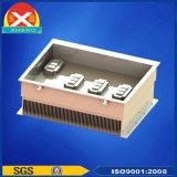 Het dubbele Controlemechanisme Heatsink van de Motor die van Legering van het Aluminium 6063 wordt gemaakt