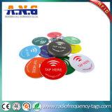Ntag216를 가진 NFC Hf 에폭시 꼬리표는 ISO14443A를 방수 처리한다