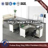 Escritorio de oficina contratante, estilo del sitio de trabajo