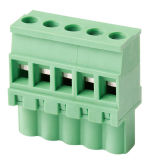 7.62mm Pitch Pluggable Terminal Block mit Screw