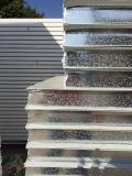 Painel de parede de aço isolado materiais de construção da divisória do sanduíche do EPS