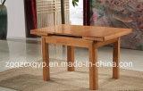 단단한 나무 식탁 나무로 되는 테이블 홈 가구 식탁