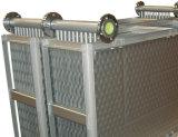 Recuperación de calor residual del cambiador de calor del humo con el sistema que se lava del CIP