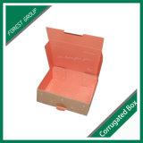 Caisse d'emballage ondulée estampée par coutume chaude de colis de cadre ondulé de vente