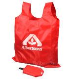 Портативный Nylon складывая мешок, складная хозяйственная сумка (HBFB-37)