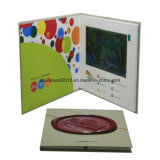 Print Video Book Video Brochure (ID7001)の7inch LCD Video Invitation Card Video