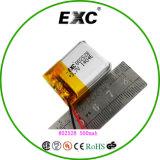 Kleine Lipo Batterie 802528 sehen größere Imagelithium Ionenplastik-Batterie
